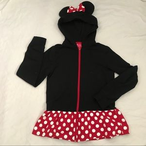 Girls Disney Minnie Mouse Costume/Sweatshirt